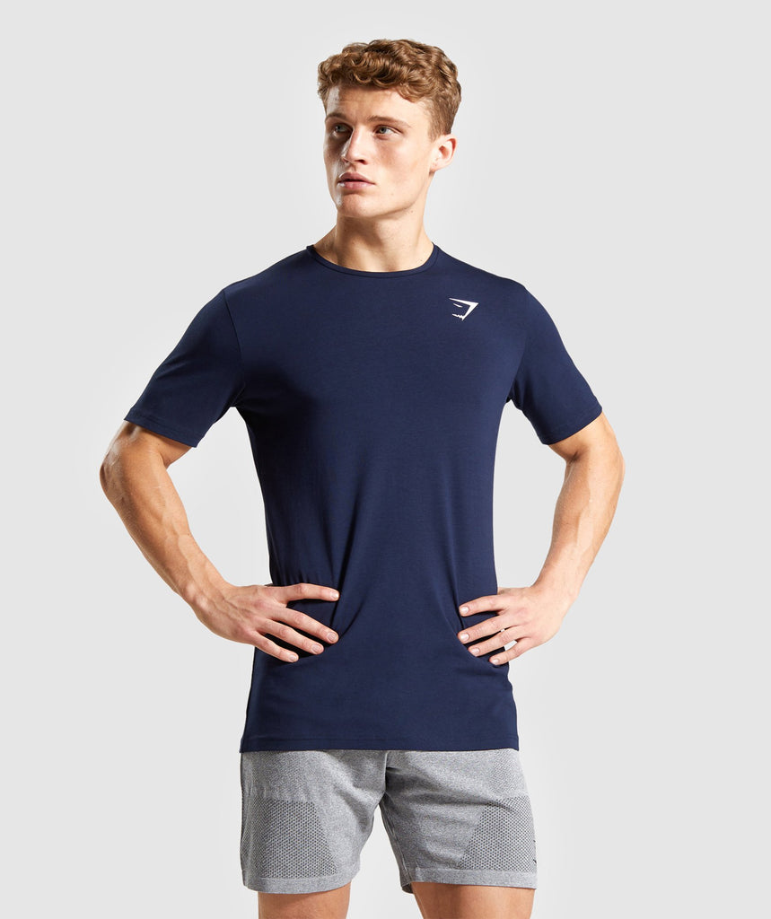 Gymshark Critical T-Shirt - Dark Blue 1