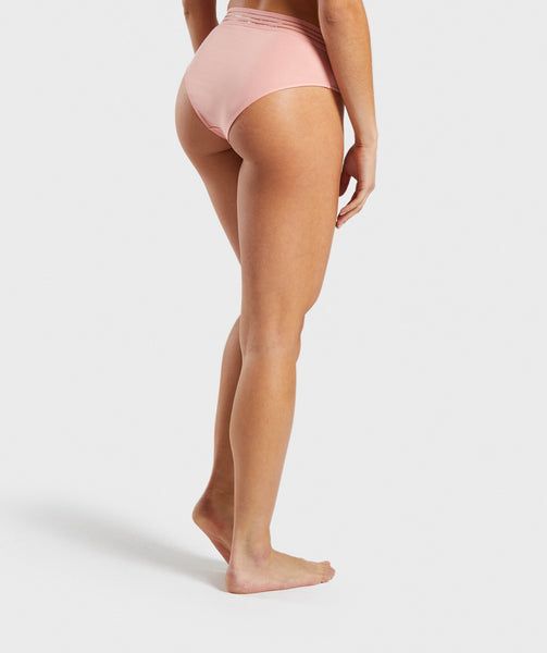 Gymshark Jersey Brief - Peach 1