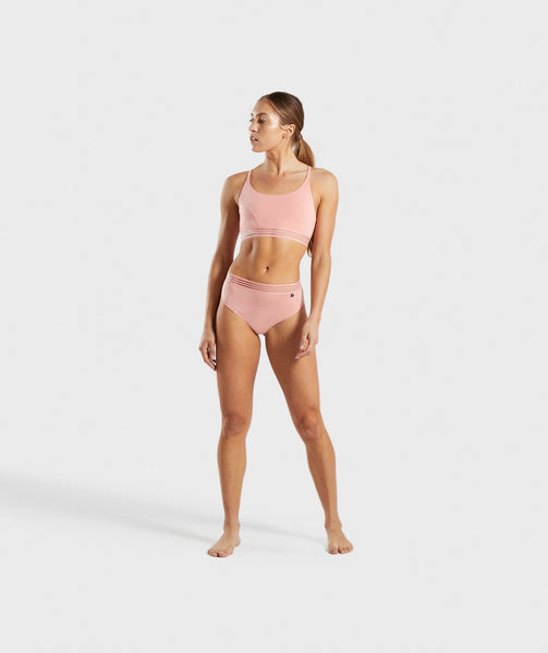 Gymshark Jersey Brief - Peach 4