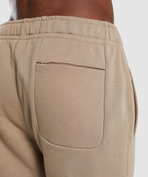 Gymshark Carbon Bottoms - Driftwood Brown 3