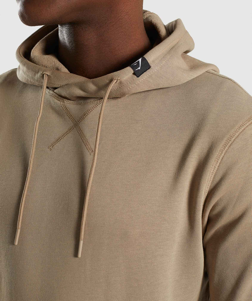 Gymshark Carbon Pullover - Driftwood Brown 5