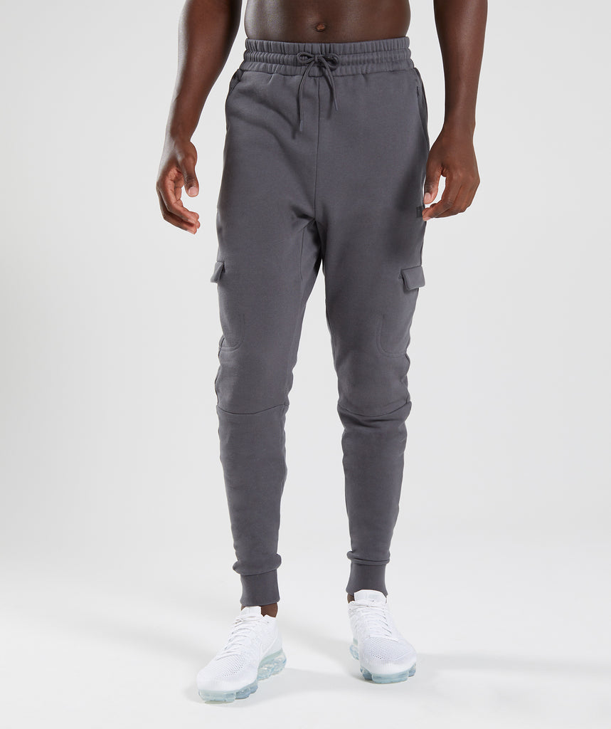 Gymshark Cargo Bottoms - Charcoal 4