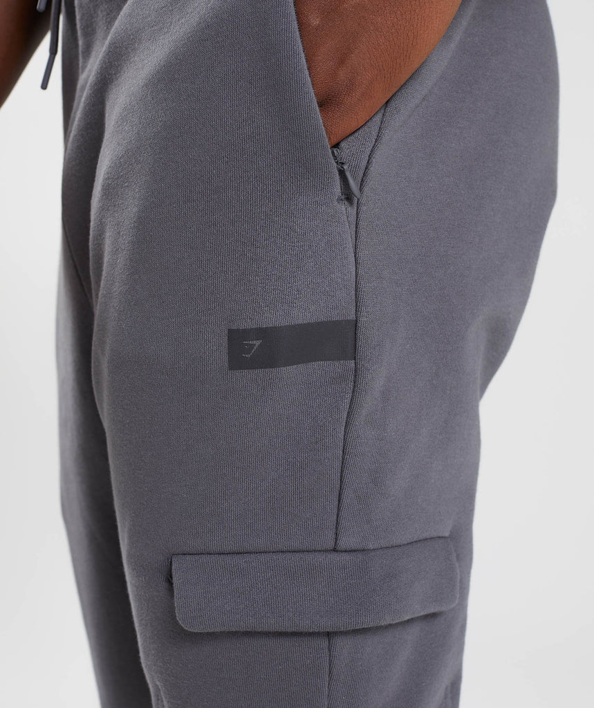 Gymshark Cargo Bottoms - Charcoal 6