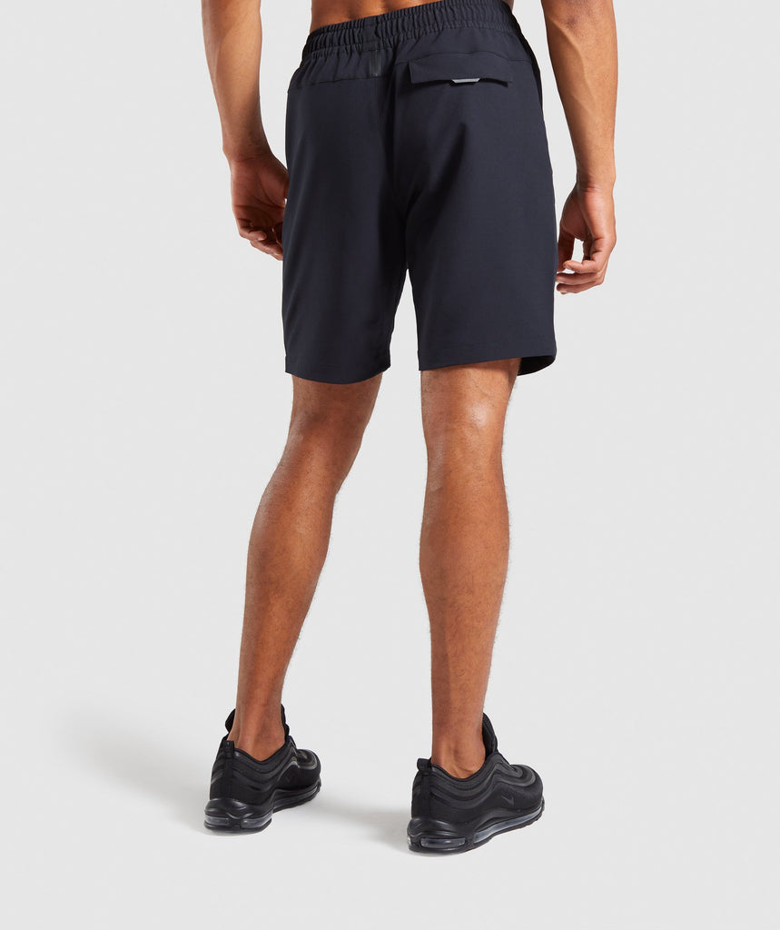 Gymshark Cargo Tech Shorts- Black 2