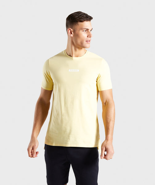 Gymshark Central T-Shirt - Yellow 2