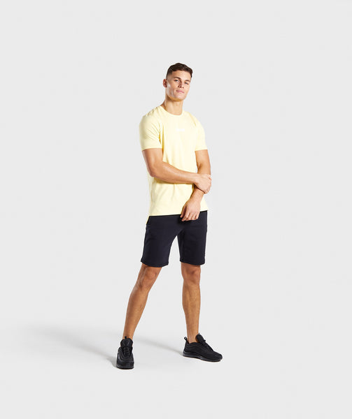 Gymshark Central T-Shirt - Yellow 3