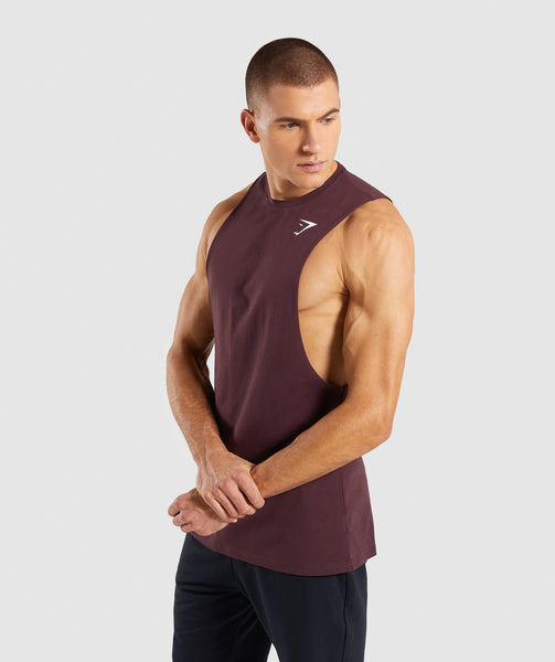 Gymshark Critical Drop Armhole Tank - Red 2