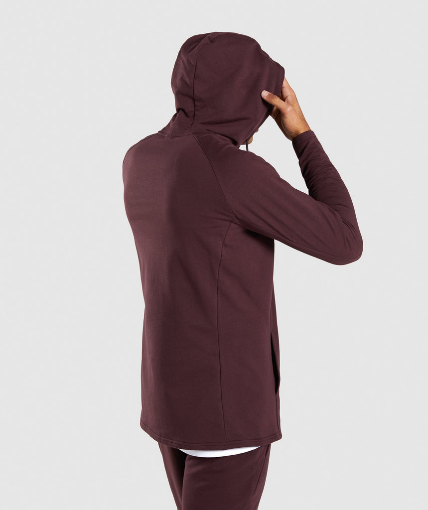Gymshark Critical Hoodie - Red 2
