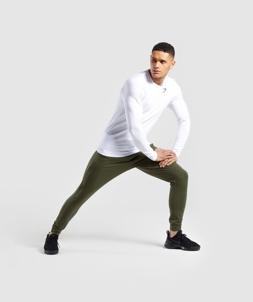 Gymshark Critical Long Sleeve T-Shirt - White 2