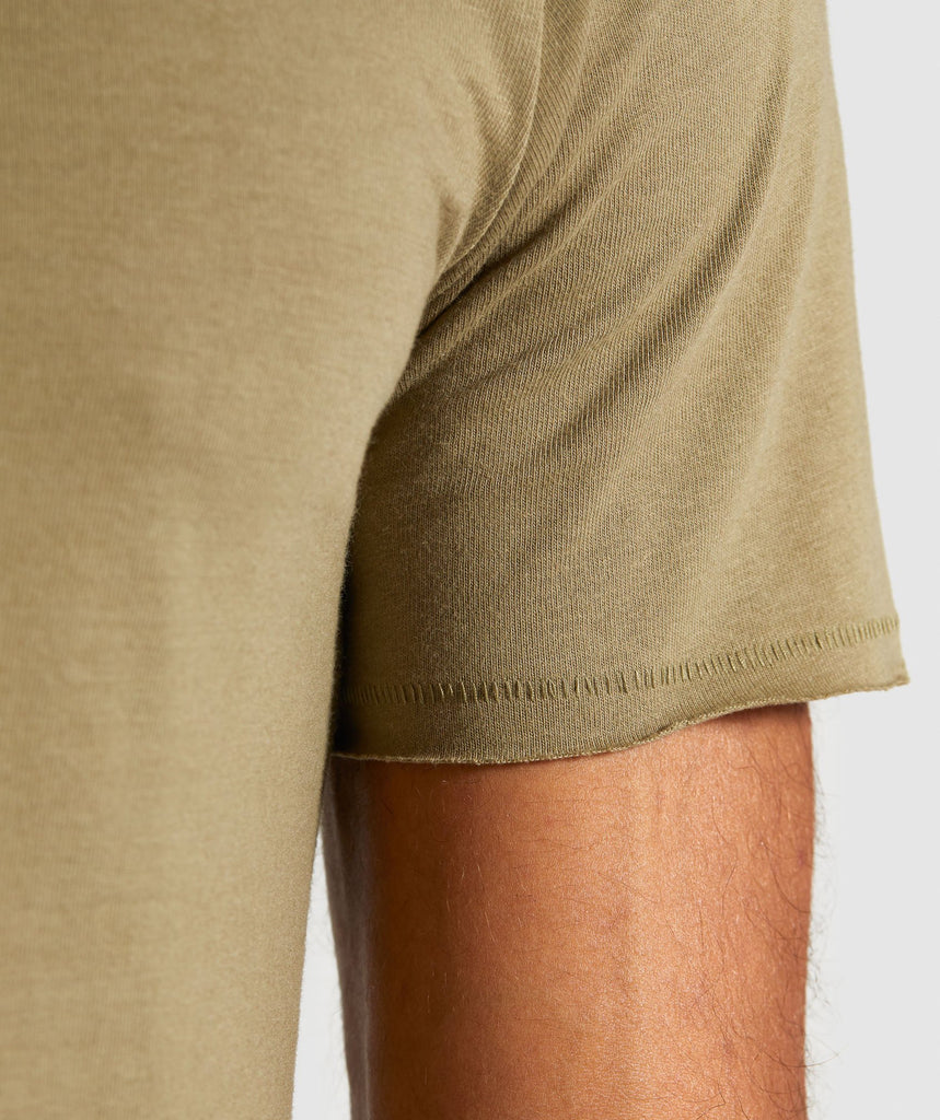 Gymshark Crucial T-Shirt - Light Khaki 6