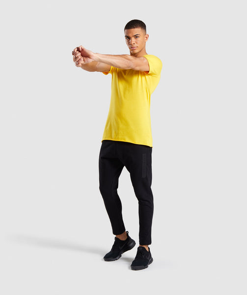 Gymshark Crucial T-Shirt - Yellow 3