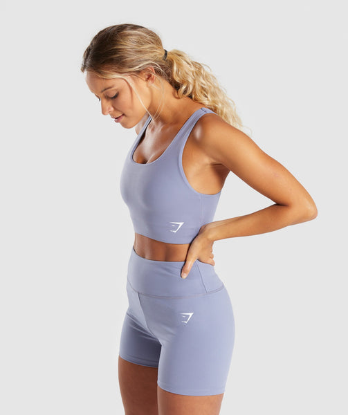 Gymshark Dreamy Sports Bra - Steel Blue 2