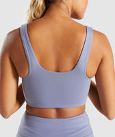 Gymshark Dreamy Sports Bra - Steel Blue 12