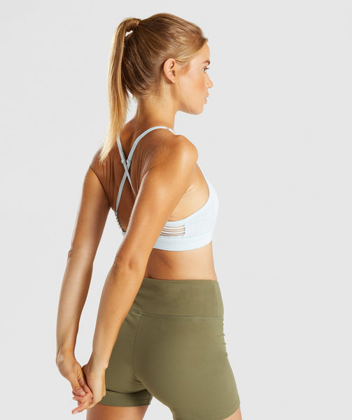 Gymshark Ease Sports Bra - Ice Blue 1