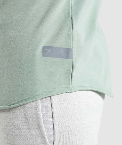 Gymshark Eaze T-Shirt - Pale Green 3
