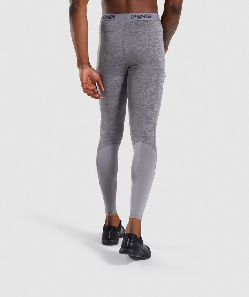 Gymshark Element+ Baselayer Leggings - Smokey Grey Marl 2