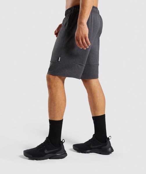 Gymshark Element Shorts - Black Marl 2