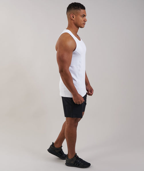 Gymshark Element Tank - White 2