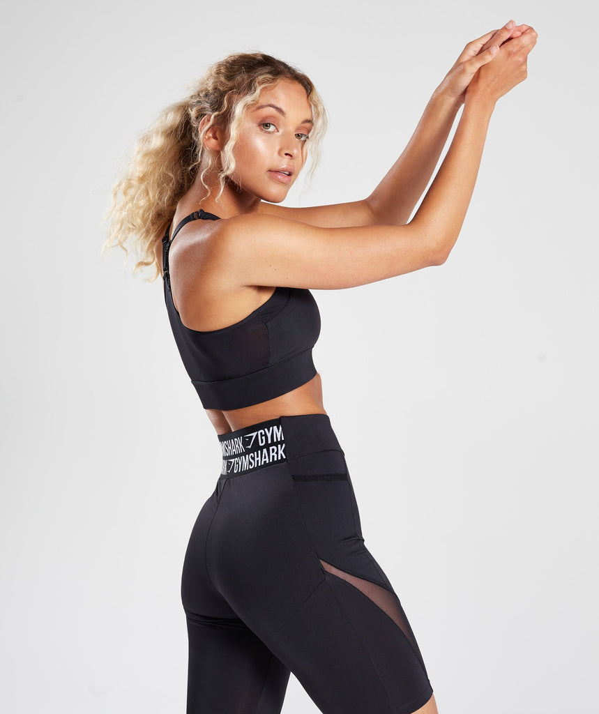 Gymshark Elevate Sports Bra - Black 2