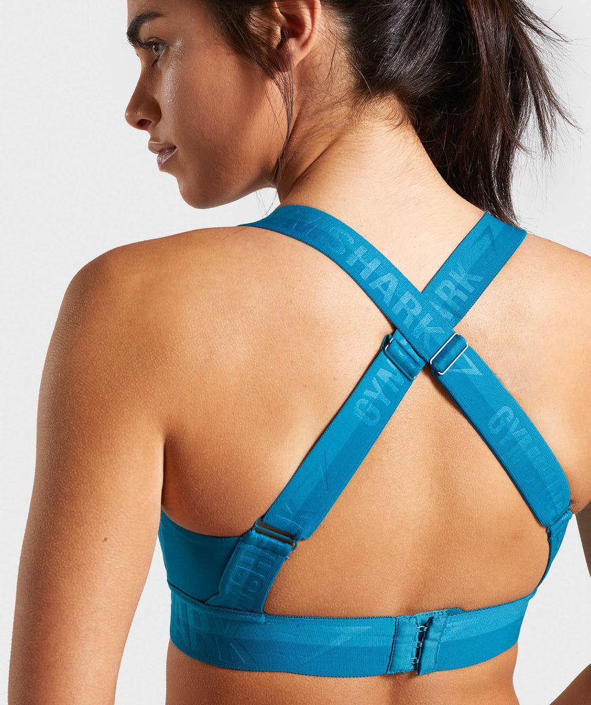 Gymshark Empower Sports Bra - Deep Teal 5