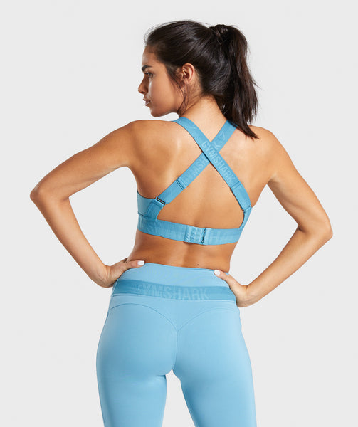 Gymshark Empower Sports Bra - Dusky Teal 1