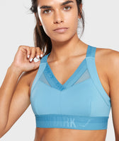 Gymshark Empower Sports Bra - Dusky Teal 12