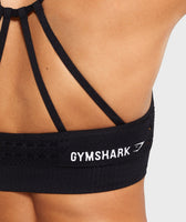 Gymshark Energy Seamless Sports Bra - Black 11