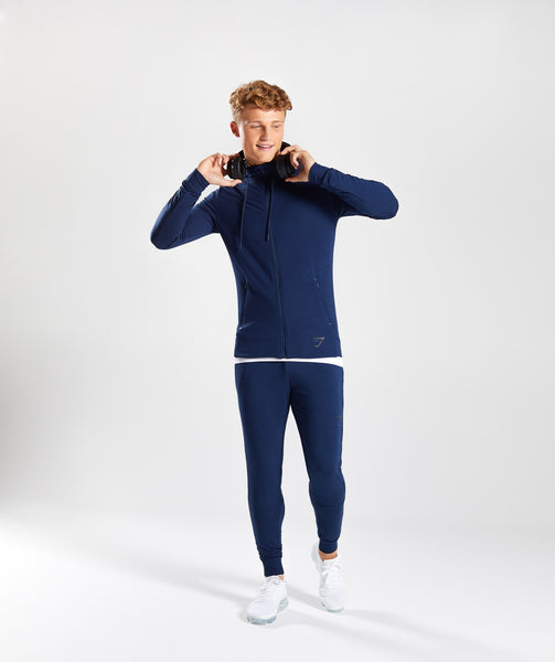 Gymshark Enlighten Zip Hoodie  - Sapphire Blue 4
