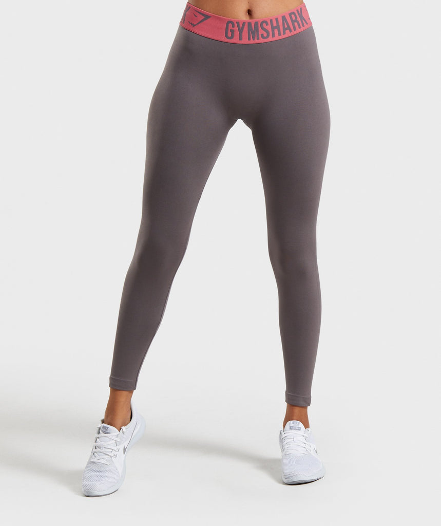 Gymshark Fit Leggings - Slate Lavender/Rose 1