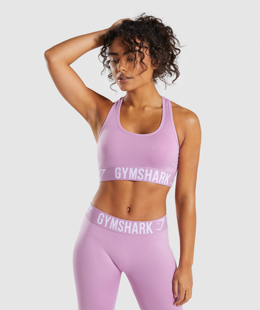 Gymshark Fit Sports Bra - Pink 1