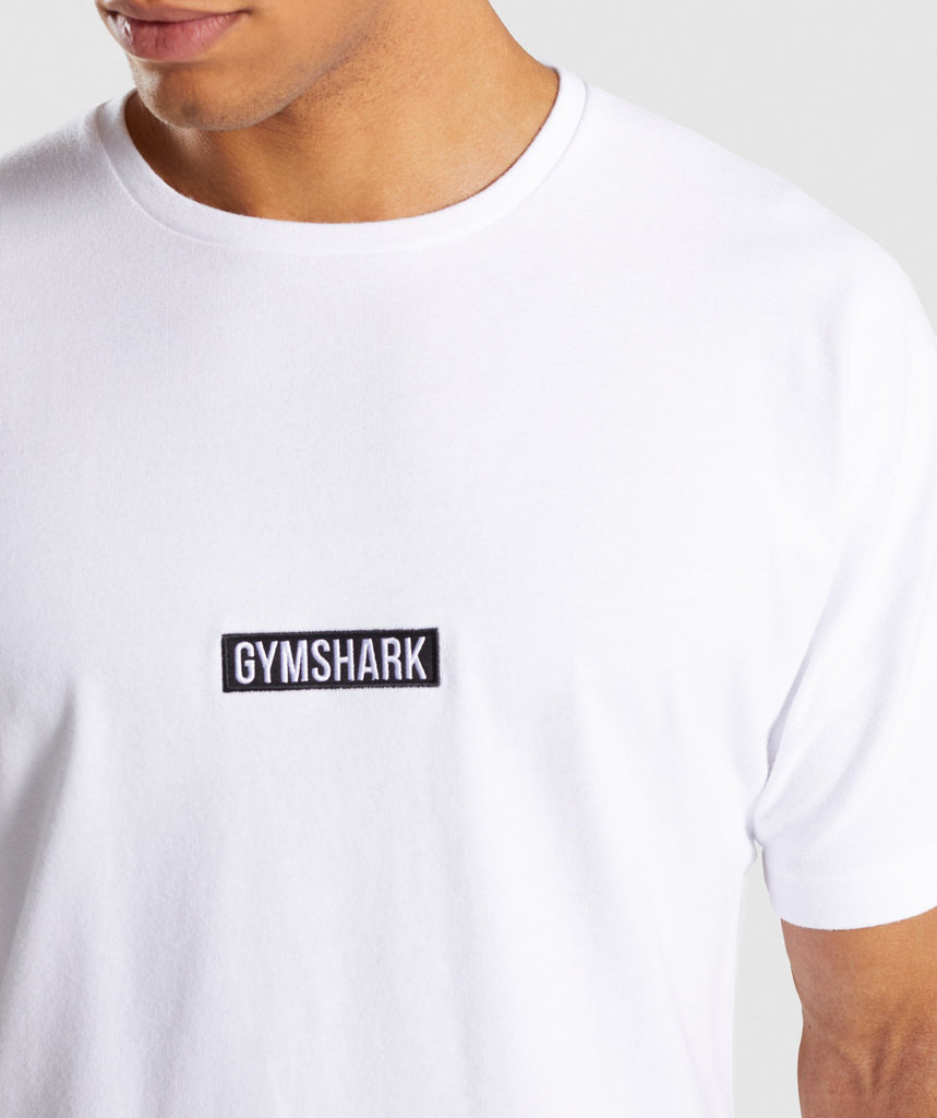 Gymshark Fresh T-Shirt - White 5