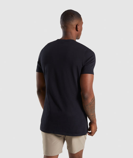 Gymshark Ascend T-Shirt - Black 1