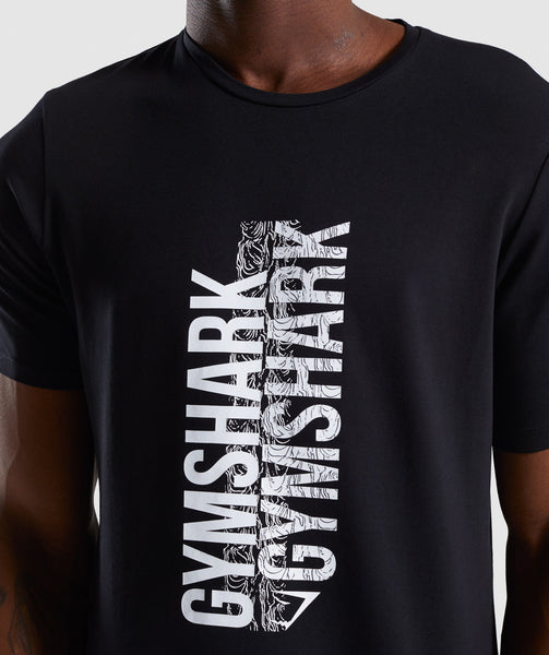Gymshark Ascend T-Shirt - Black 4