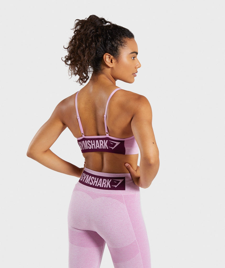 Gymshark Flex Strappy Sports Bra - Pink 2
