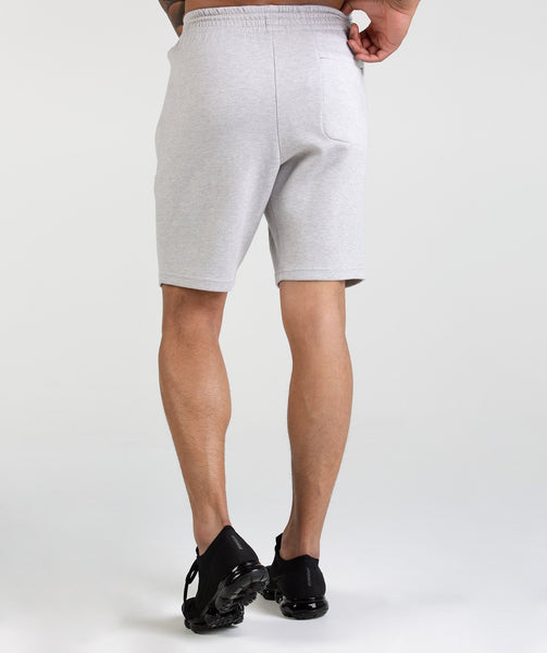 Gymshark Ozone Shorts - Light Grey Marl 3