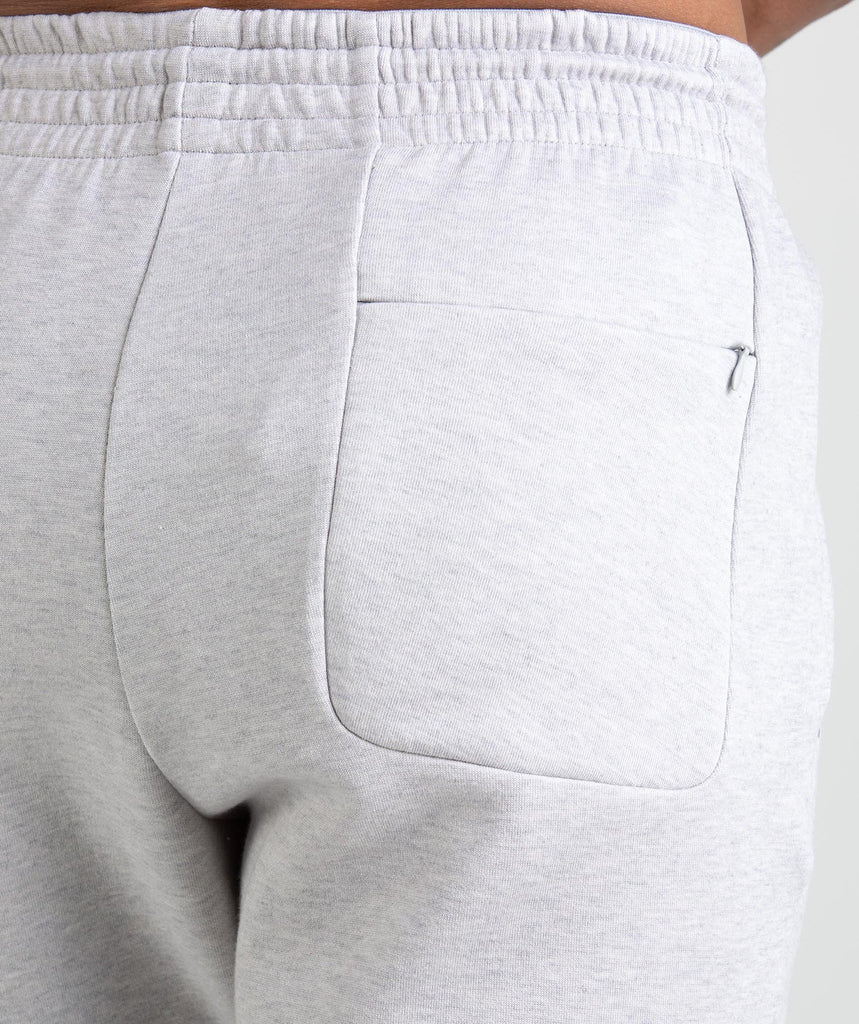 Gymshark Ozone Shorts - Light Grey Marl 6