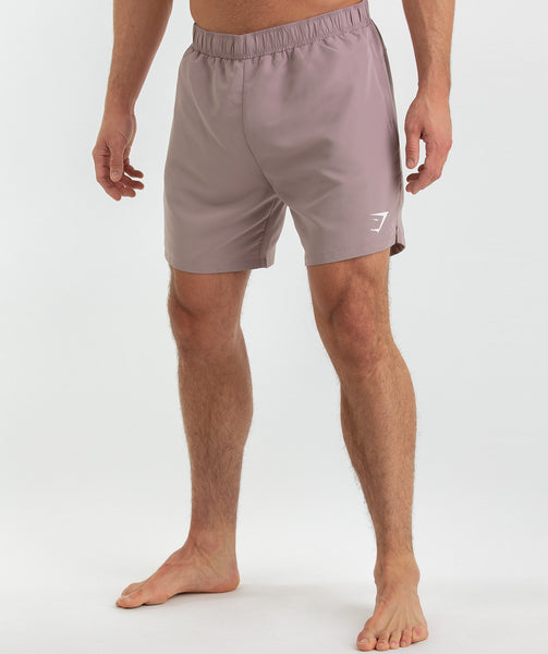 Gymshark Atlantic Swim Shorts - Purple Chalk 4