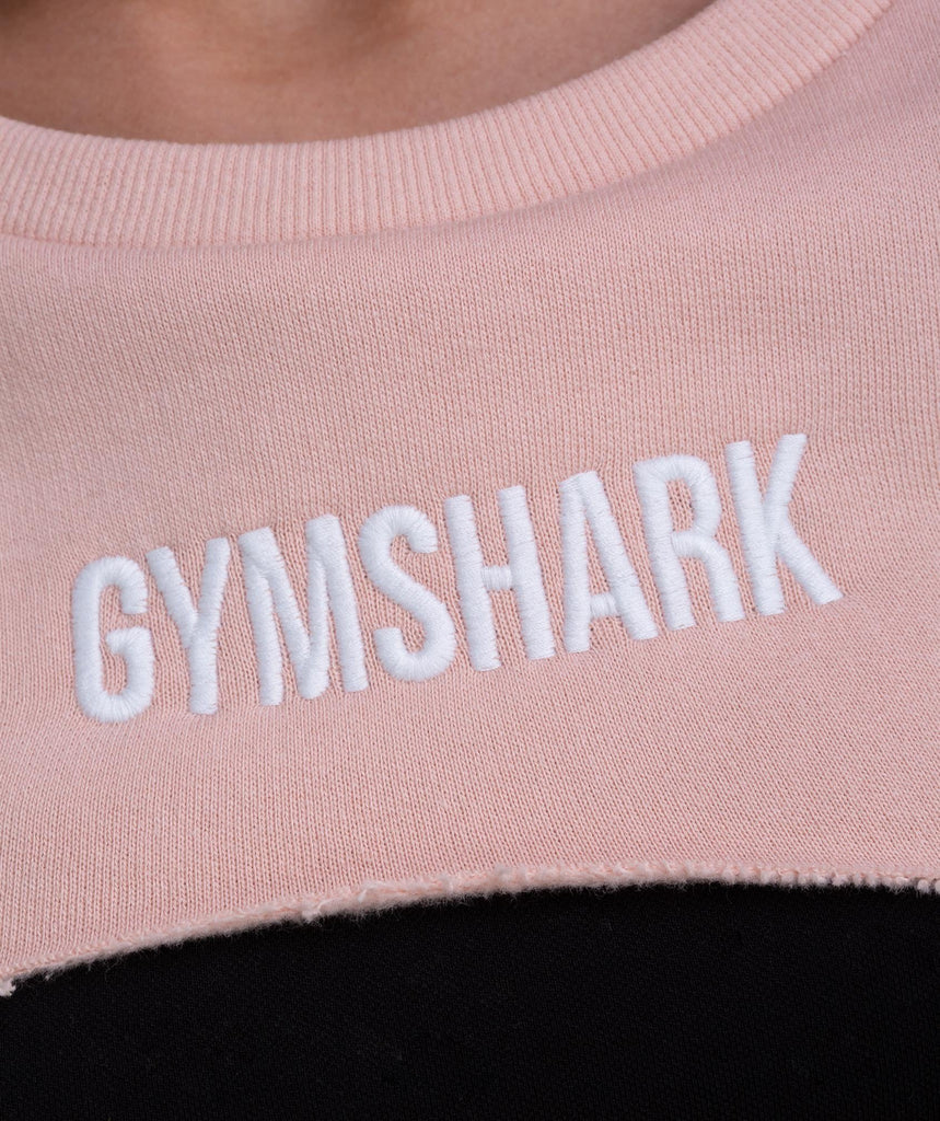 Gymshark Super Cropped Sweater - Blush Nude 5