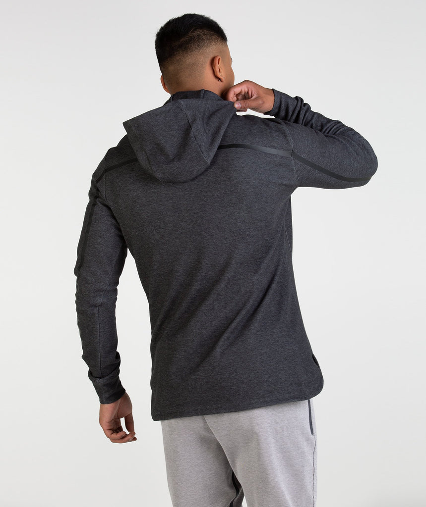 Gymshark Take Over Pullover - Black Marl 2