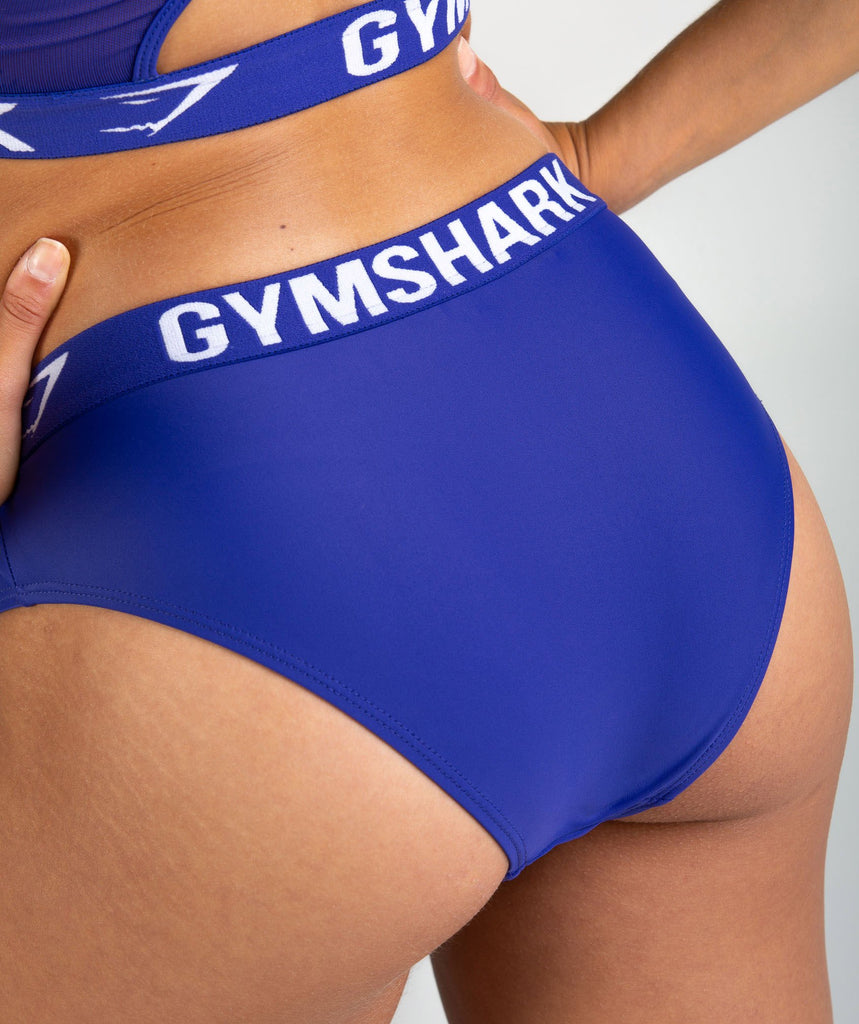 Gymshark Workout Bikini Bottoms - Indigo 5