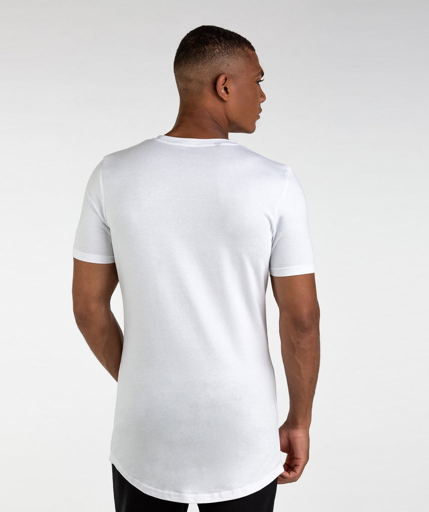 Gymshark Living T-Shirt - White 2