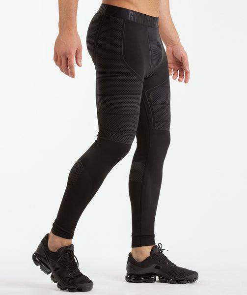Gymshark Onyx Imperial Leggings - Black 1