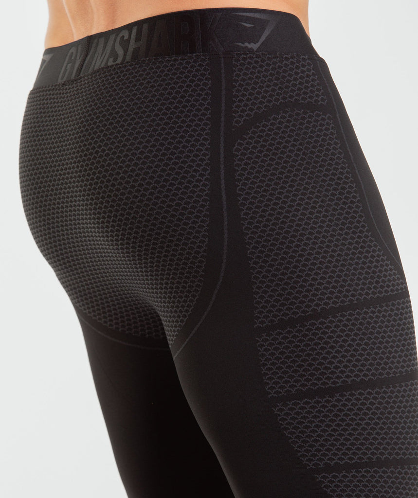 Gymshark Onyx Imperial Leggings - Black 5