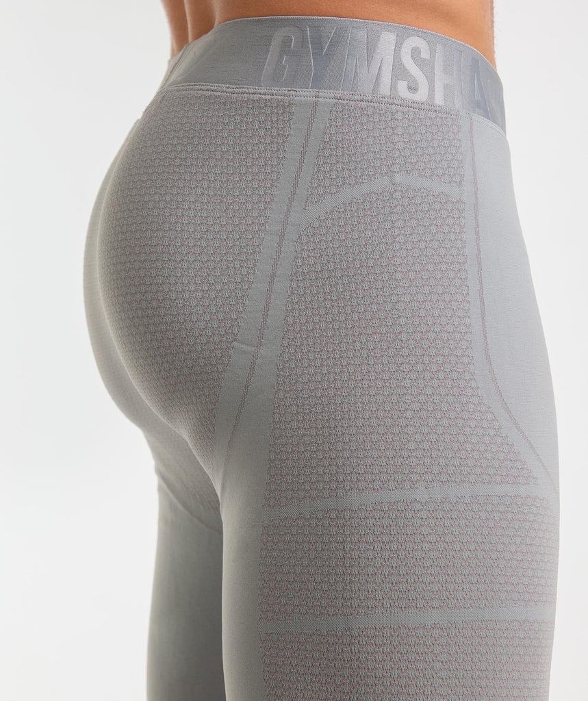 Gymshark Onyx Imperial Leggings - Light Grey 5