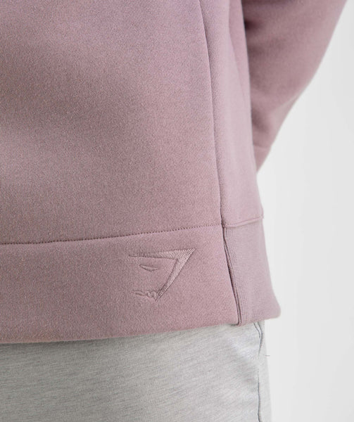 Gymshark Oversized Sweater - Purple Chalk 3