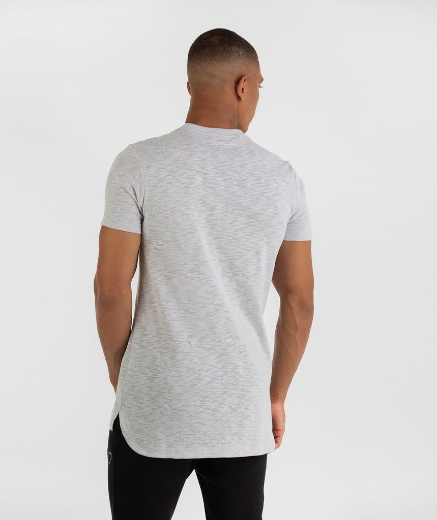 Gymshark Heather T-Shirt - Rustic Grey Marl 2