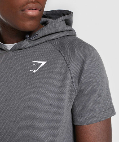 Gymshark Jacquard Pullover - Charcoal Marl 4