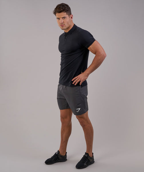 Gymshark Ace Polo - Black 4