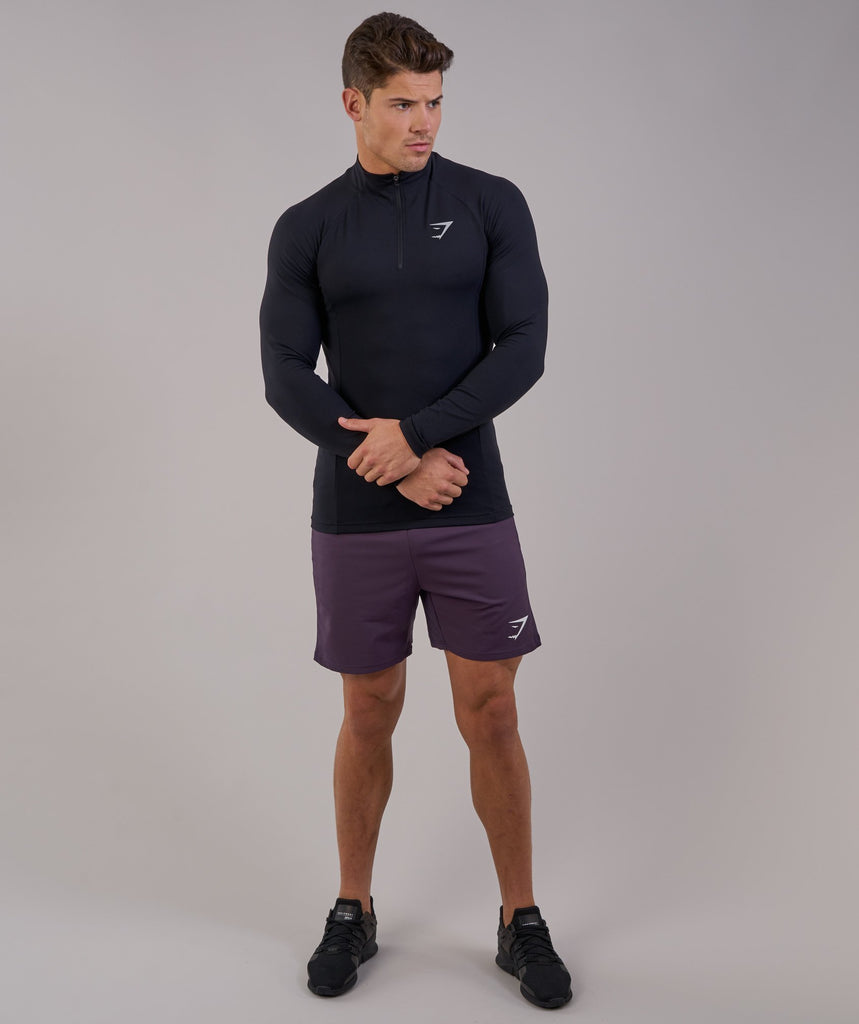 Gymshark Edge 1/4 Zip Pullover - Black 4