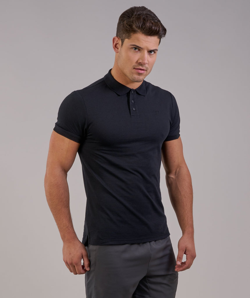 Gymshark Ace Polo - Black 5
